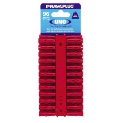 RawlPlug Uno Wall Fixings 6x28mm - Pack 96