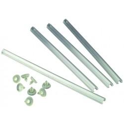 Glass Shelf Inserts - 4 Pack