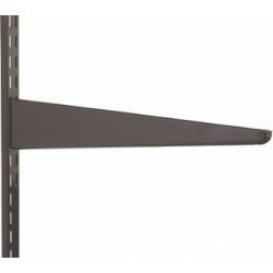 170mm Brown Twin Slot Shelving Bracket
