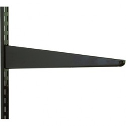 370mm Brown Twin Slot Shelving Bracket