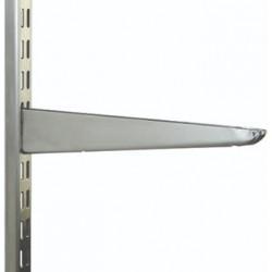 270mm Polished Chrome Twin Slot Shelving Bracket