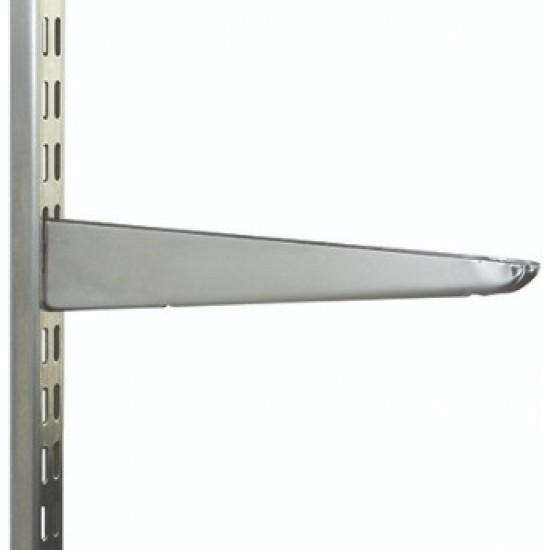 370mm Stainless Steel Twin Slot Shelving Bracket