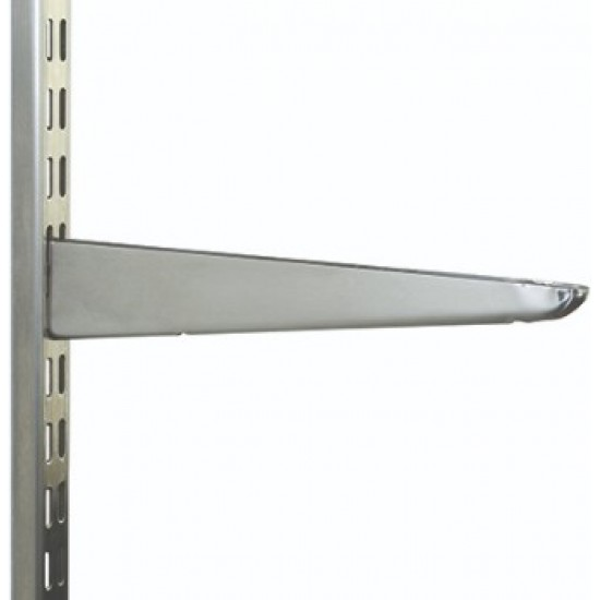 470mm Stainless Steel Twin Slot Shelving Bracket