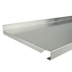 Metal Shelf 1000mm x 470mm Stainless Steel