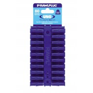 RawlPlug Uno Wall Fixings 8x32mm - Pack 80