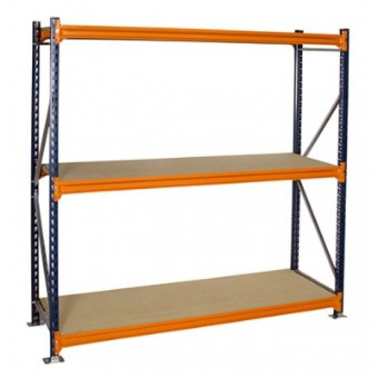 2000mm Height x 1220mm Depth Longspan Shelving Starter Bay
