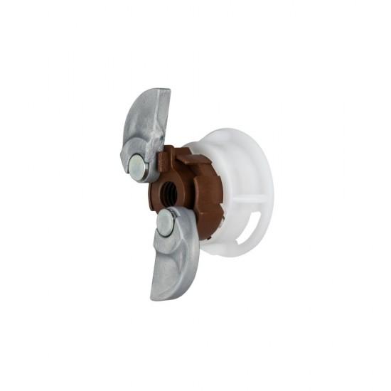 GripIt 202-308 20mm Brown Plasterboard Fixings - Pack of 8
