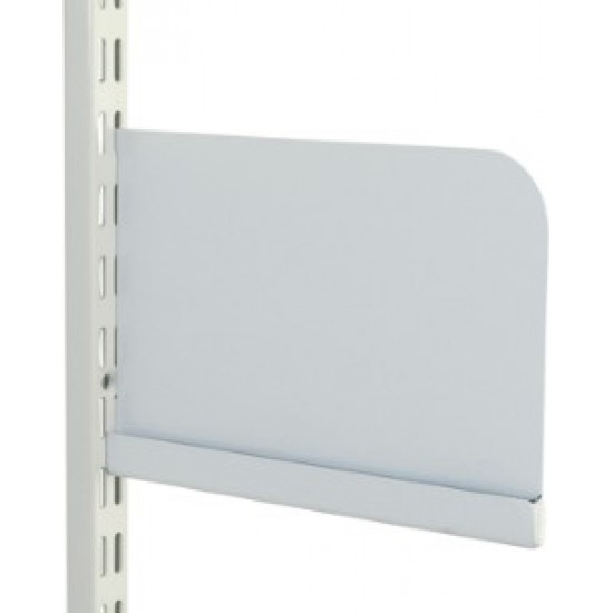Shelf Ends for 220mm Steel Shelf - Pair