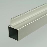 2m ProFrame Self Colour Aluminium Single Fin Square Tube