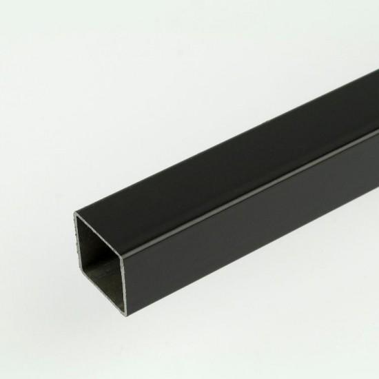 3m ProFrame Black Aluminium Square Tube
