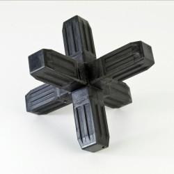 ProFrame Black 6 Way Joint
