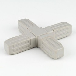 ProFrame Grey 4 Way Flat Joint