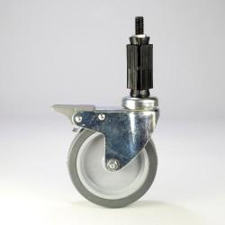 ProFrame Braked Light Duty Wheel