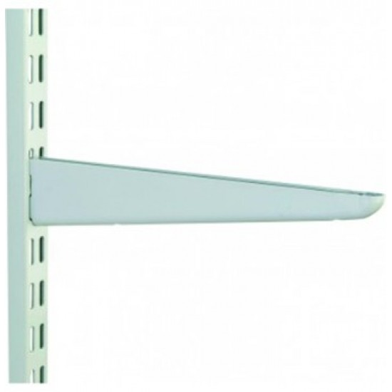 270mm White Twin Slot Shelving Bracket