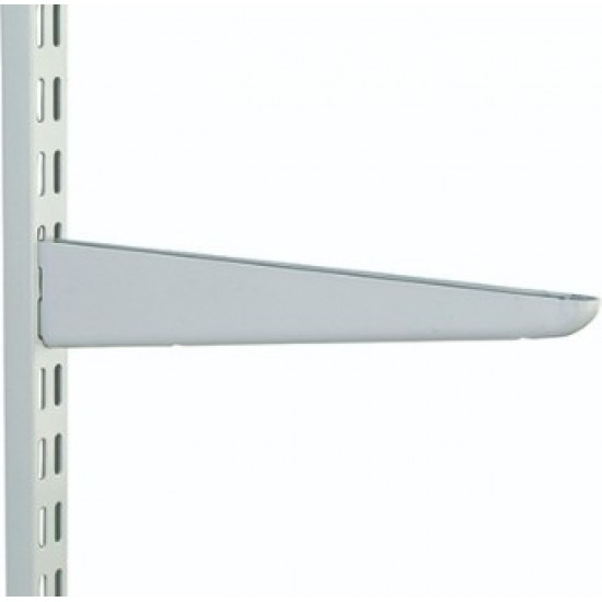610mm White Twin Slot Shelving Bracket