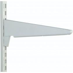 470mm White Heavy Duty Twin Slot Shelving Bracket